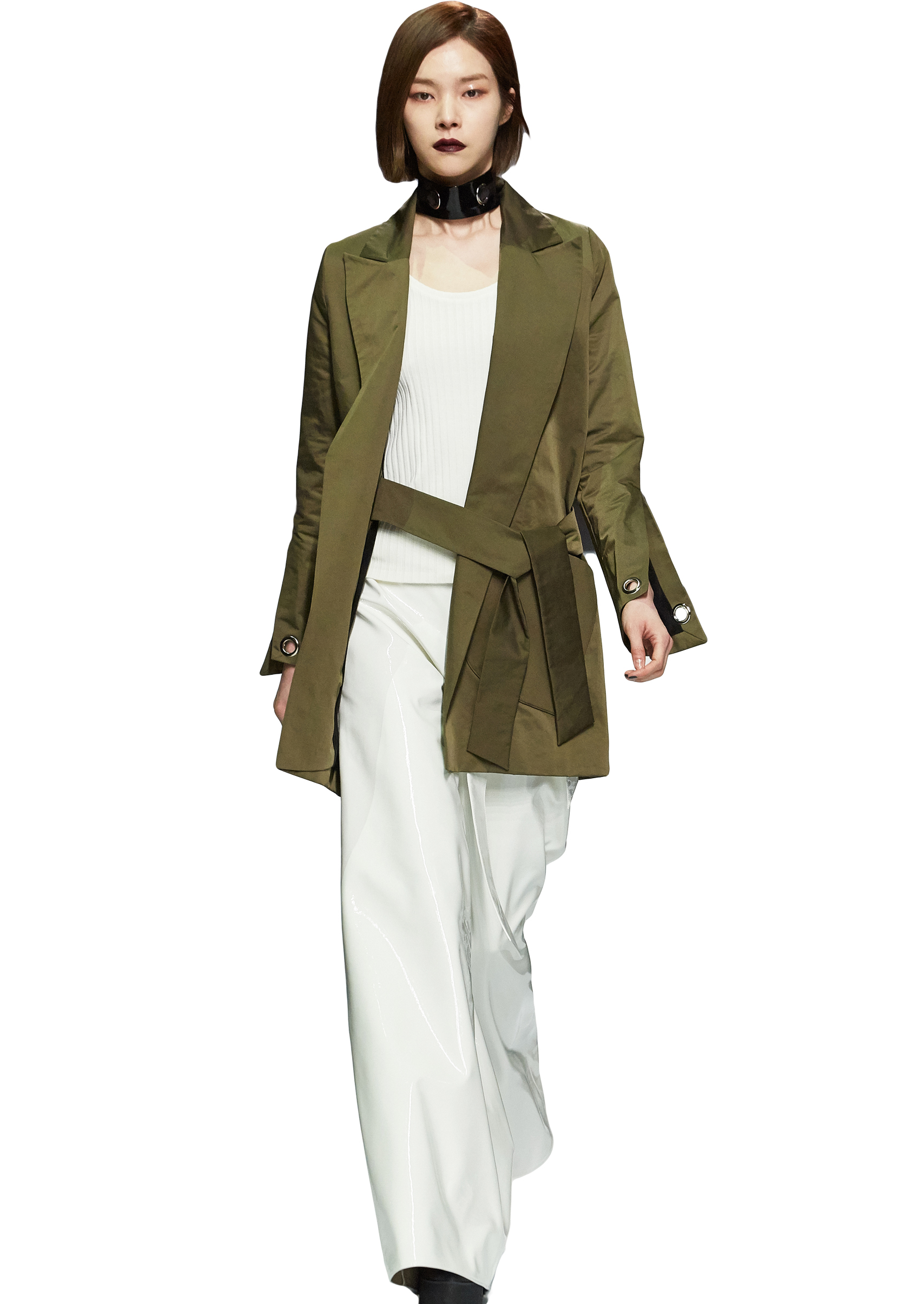 TRENCH COAT _ NOHKE 16FW COLLECTION