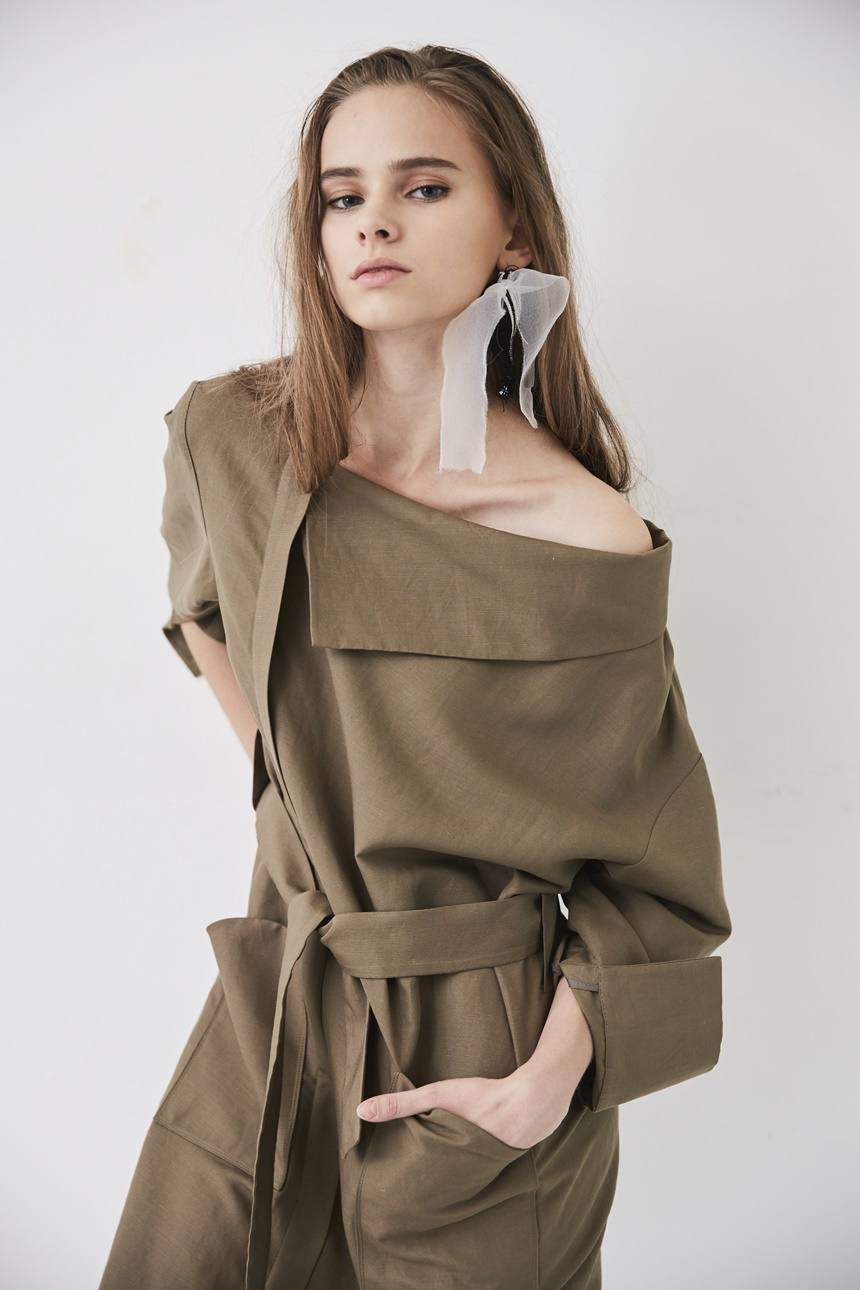 EKHON PRE-FALL LINEN SHIRTS DRESS