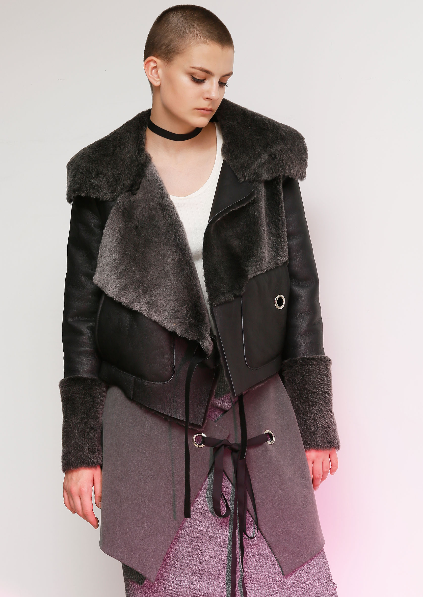 FUR JACKET_ NOHKE 16FW COLLECTION